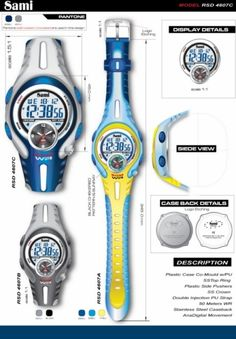 Sami Watches  designed by: Alvin Gilbert Dc. Gonda  abugonda@yahoo.com Design Development, Pantone, Industrial Design, Behance, Concept, Graphic Design, Watches, Industrial By Design, Wristwatches