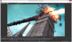 Tower Destruction in Maya & Max video tutorial. for scene files go to cgpedia.com