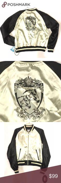 I just added this listing on Poshmark: NWT 2005 Luella for Target Satin Jacket w/ Horses. #shopmycloset #poshmark #fashion #shopping #style #forsale #Luella for Target #Jackets & Blazers