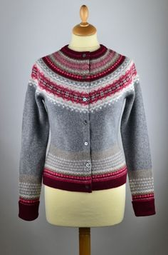 Ideas for EZ cardi on smaller needles .. just in case I have to extend the yoke.
