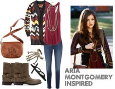 """""""Aria Montgomery Inspired"""" by kaylee-kimberlin on Polyvore"""