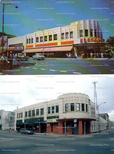 Kresge's, then and now. I remember taking the bus from Whitman to shop here with Mom.