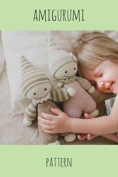 This is cute amigurumi pattern for kids :) <3 #kids #pattern #amigurumi #diy #crafty #craft #crochet #ad