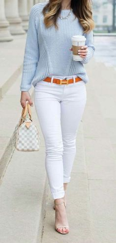 10 Best Spring Outfit Ideas For Work - Casual Work Outfits Preppy Summer Outfits, Classy Work Outfits, Spring Work Outfits, Casual Dress Outfits, Outfit Jeans, Business Casual Outfits, Mode Outfits, Work Casual, Fashion Outfits
