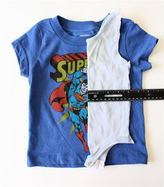 Make your own onesie pattern to turn other t-shirts into onesies! Rigdon you should turn some of JM's shirts into onesies for Lulu! Sewing For Kids, Baby Sewing, Diy For Kids, Sewing Diy, Bebe Love, My Bebe, Diy Clothing, Sewing Clothes, Sewing Tutorials