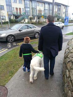 Dogs for autistic children