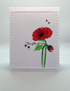 WPlus9 Sunshine Layers die & Altenew 'Painted Poppy' stamps