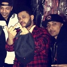 Mood thinking about all the bs Abel got from haters in his comments and the fact this happened days before Selena's bdaythey both deserve better than this ANYWAYS this #tb pic of Abel with Hennessy and dooly tho just missing my other two favs Ziad and Lamar ❤️