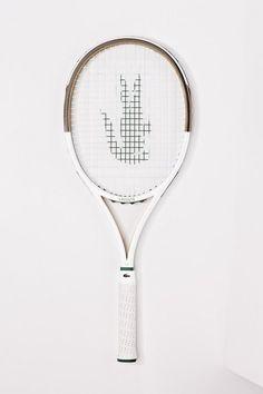 Lacoste Vintage Tennis Racquet #tennisracket