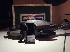 "G.I. Joe Rise of Cobra ""Cobra Gunship"" with ""Firefly"""