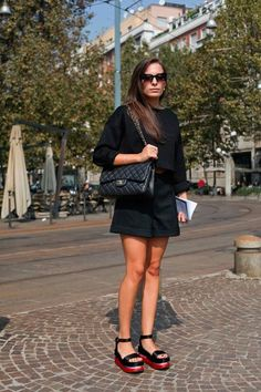 How to Wear High Platforms  #HighPlatforms #shoe