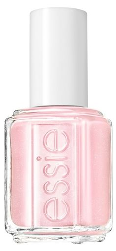 Pastel pink nail polish. Love it!