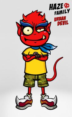 Urban Devil - Haze Family 01 - Urban Devil  / Creator, Characters and Illustrations by PEPPERJERRY
