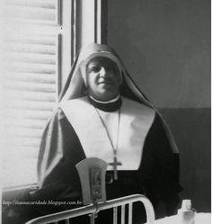 """""""Procurei cumprir o dever que me foi imposto como também na medida de minhas forças, mantive como foi possível à minha capacidade a ordem e o respeito dentro do hospital.""""  Irmã Benigna Victima de Jesus Itaúna 16 de novembro de 1947"""
