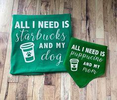 Cut Out Letters, Matching Shirts, Green Shirt, Glitter Hearts, Mama Shirt, Dog Bandana, Heat Transfer Vinyl, Starbucks, Dog Mom