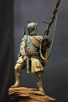 Star Wars Mythos Boba Fett by SideshowCollectibles, via Flickr