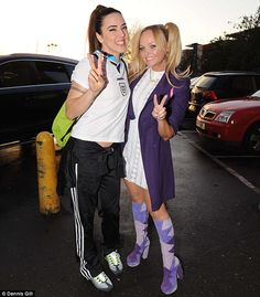 melanie c emma bunton sporty spice fancy dress baby spice 2013 Baby Spice Costume, Viva Forever, Melanie C, Emma Bunton, Fancy Dress Up, Girls Rules, Spice Girls, Girl Bands, Girl Blog