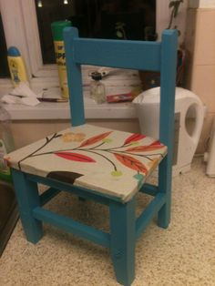 Up-cycled chair
