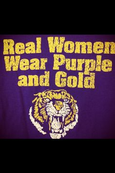 For LSU TIGERS!!!!
