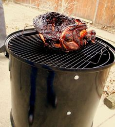 Let's unpack the smoker and get grilling this Spring with a fresh, bone-in ham, smoked on a Weber Smokey Mountain Cooker Smoker!
