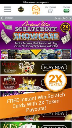 The PCH App on the App Store Instant win games, Win for