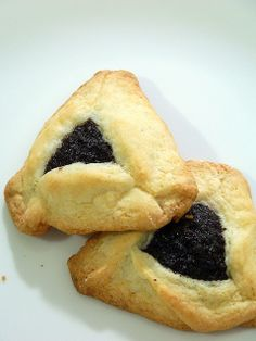 The best GF hamantashen recipe so far, adapted slightly (using coconut oil/butter) and brown/white/sweet rice flour combo.