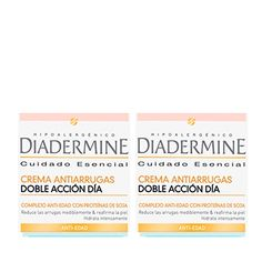Diadermine duplo antiarrugas dia. https://farmaciaexpres.com/perfumeria-y-cosmetica/diadermine/diadermine-duplo-crema-antiarrugas-doble-accion-dia-2x50-ml.html