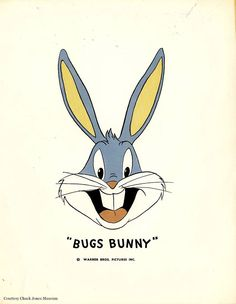 Publicity sheet of Bugs Bunny, circa Bugs Bunny Cartoons, Looney Tunes Cartoons, Cartoon Art Styles, Cartoon Pics, Bugs Bunny Drawing, Rabbit Pictures, Bunny Tattoos, Merrie Melodies, Disney Cartoon Characters