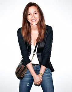 Leighton Meester. Sorry I'm mildly obsessed.