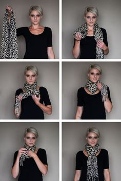 tutorial - HOW TO WRAP A SCARF! by noemi