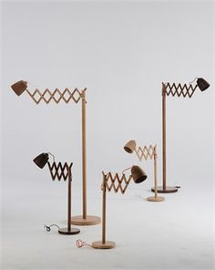 Channels - Finnieston collections - Oak lamps
