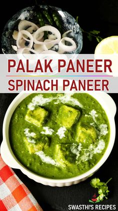 Palak Paneer Recipe Easy, Easy Paneer Recipes, Spicy Recipes, Curry Recipes, Cooking Recipes, Roti Recipe, Palak Rice Recipe Indian, Health Recipes, Health Desserts