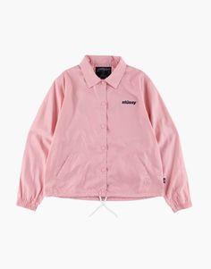 Stussy Women Coach jacket pink