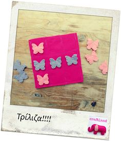 Butterfly tic tac toe Tic Tac Toe, Felt, Butterfly, Blog, Kids, Young Children, Felting, Children, Kid