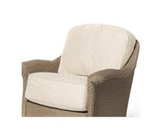 Oxford Lounge Rocker Seat and Back Cushion (Dupione Bamboo (Green))