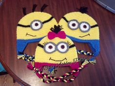 Crochet: Yellow Man (inspired by Dispicable Me Minion) pattern by Ashley Phelps (free pattern on ravelry) [@Lauren Rasband - this is one of the cuter patterns I've found.  What do you think?]