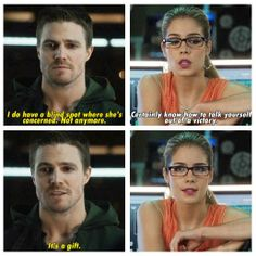 Arrow - Oliver & Felicity #2.11 #Season2 #Olicity