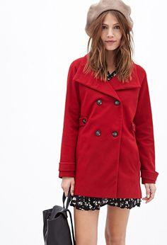 f9d955e6f34e Cowl Neck Pea Coat Pea Coat, Female Tops, Coats For Women, Jackets For