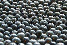 oven dried blueberries (vegetarian - tossed in honey)