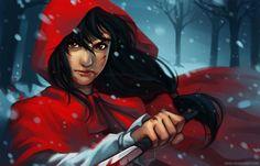 qinni:    Red Riding Hood :D ….no longer little though.