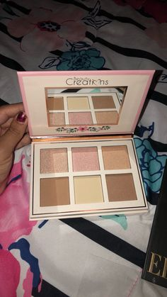 Highlight And Contour Palette, Contouring And Highlighting, Morphe Eyeshadow Palette, Eye Makeup, Hair Makeup, Makeup Sets, Beauty Brushes, Beauty Creations, Ellen Tracy
