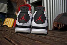 "Air Jordan 4 retro ""Fire-red"""