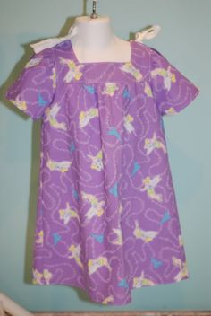 children's hospital gown with ties
