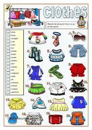 Resultado de imagen de underwear vocabulary