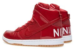 """Nike Dunk High Lux SP """"Gym Red"""""""