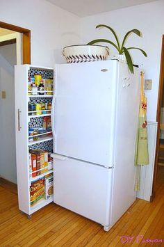 clever kitchen hidden storage