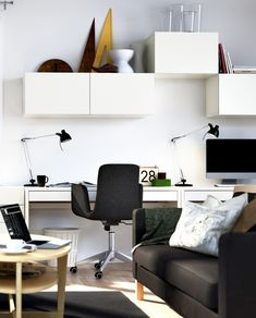 32 Ikea Home Office Design Ideas. If you begin a house business you will probably need a workplace. You'd want to make certain that your home office if you've got one looks fantastic, . Suppose Design Office, Office Interior Design, Office Interiors, Office Designs, Ikea Interior, Modern Interiors, Luxury Interior, Architecture Interiors, Ikea Living Room