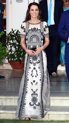 Kate Middleton in India, April 2016.