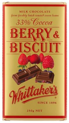 Whittakers Berry & Biscuit