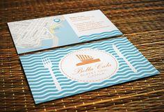 Diseño de tarjetas de visita Bella Cala | Dolphin Tecnologías